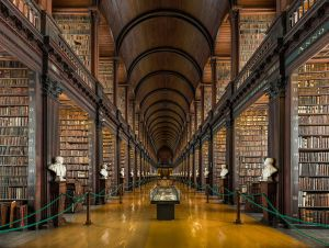 long-room-trinity-college