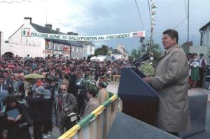 reagan-visits-ballyporeen-1984