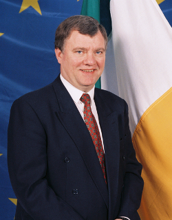 Portrait of MEP John Walls CUSHNAHAN
