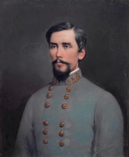 Major General Patrick Cleburne, by Louis Guillaume