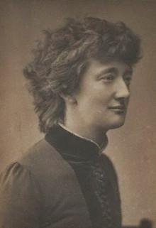 NPG x74642,Alice Stopford Green (nÈe Alice Sophia Amelia Stopford),by Henry Herschel Hay Cameron (later The Cameron Studio)